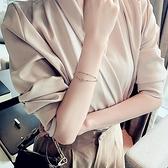 手鏈 D字玫瑰金色氣質閨蜜手鏈ins小眾設計首飾姐妹信物網紅手環手飾【快速出貨八折搶購】