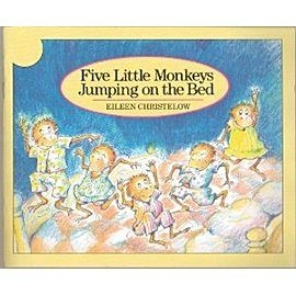 『鬆聽出英語力--第2週』-FIVE LITTLE MONKEYS JUMPING ON THE BED/英文繪本+CD (JY版本)