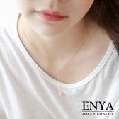 溫柔詮釋Y型珍珠項鍊 Enya恩雅(正韓飾品)【NESS8】