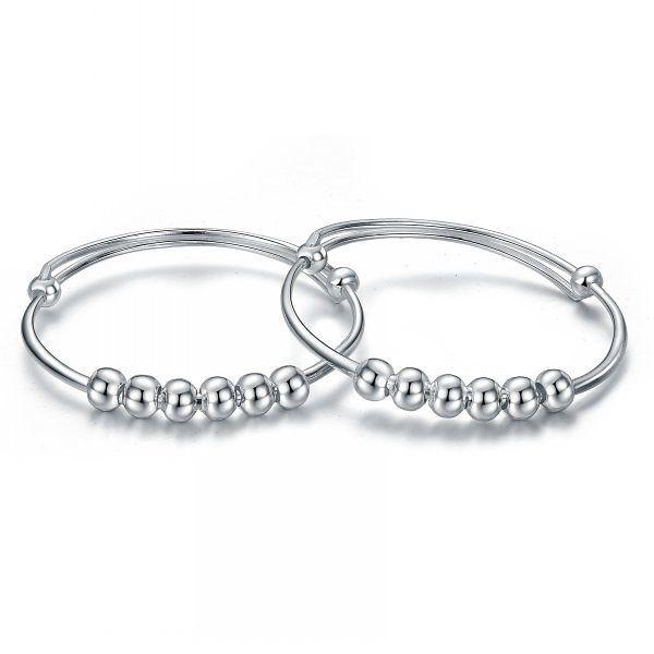 銀平安手鐲 送給寶寶最好禮物