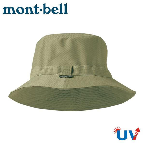 【Mont-Bell 日本 Waffle Hat 透氣圓盤帽《淺駝》】1108214/漁夫帽/圓盤帽/遮陽帽/沙灘帽