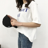 【狐狸跑跑】春夏新款韓版撞色休閑字母印花基礎款短袖T恤女5030