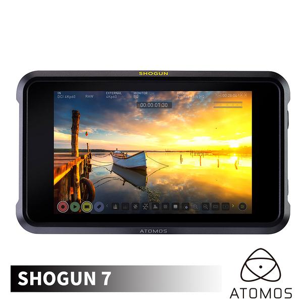 ATOMOS 澳洲 Shogun 7 幕府將軍 4K SDI/HDMI 監視記錄器 7.2吋 外接螢幕 HDR 監看螢幕 Prores Raw 公司貨
