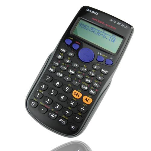 【CASIO】卡西歐新科學型直覺顯示工程計算機(FX-350ES PLUS)