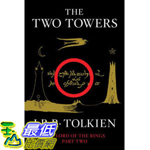 [104美國直購] 美國暢銷書排行榜 The Two Towers: Being the Second Part of The Lord of the Rings Paperback