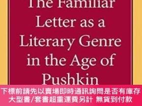 二手書博民逛書店The罕見Familiar Letter As A Literary Genre In The Age Of Pu