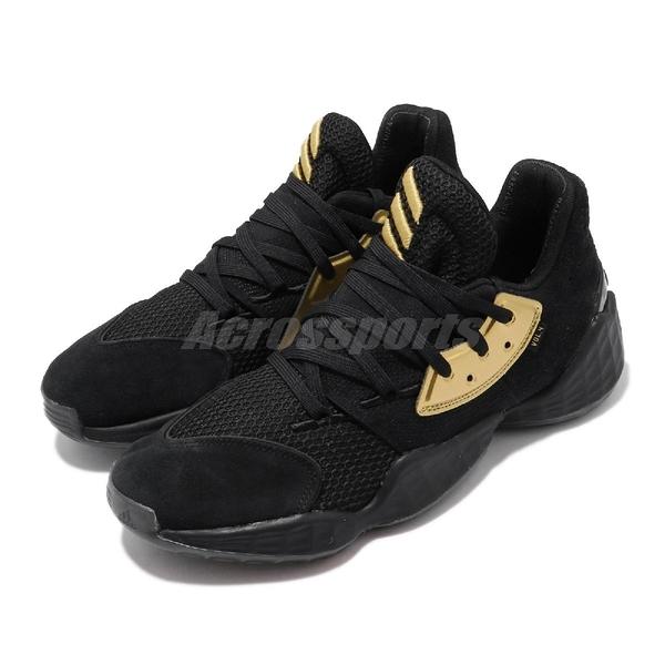 adidas 籃球鞋 Harden Vol.4 GCA Imma Be A Star 黑 金 男鞋 四代 哈登 運動鞋【ACS】 EF8652