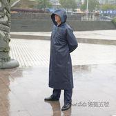 雨衣套裝外套男女雨披防暴雨騎行長款全身加厚大單人戶外時尚徒步 後街五號