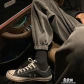 牛仔褲秋冬季潮牌牛仔褲男士韓版寬鬆潮流百搭休閒束腳褲子 易家樂
