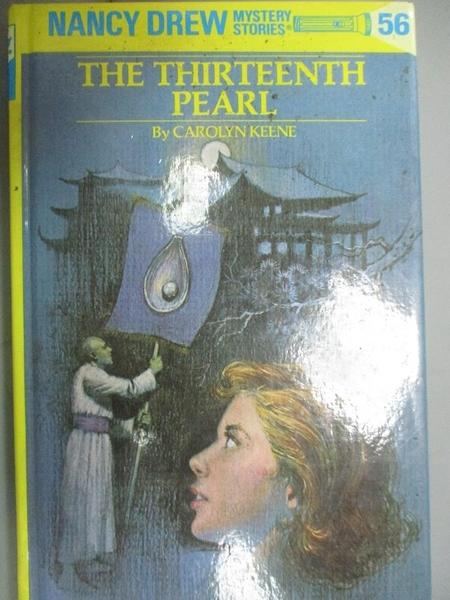 【書寶二手書T8/原文小說_GTF】The Thirteenth Pearl_Carolyn Keene