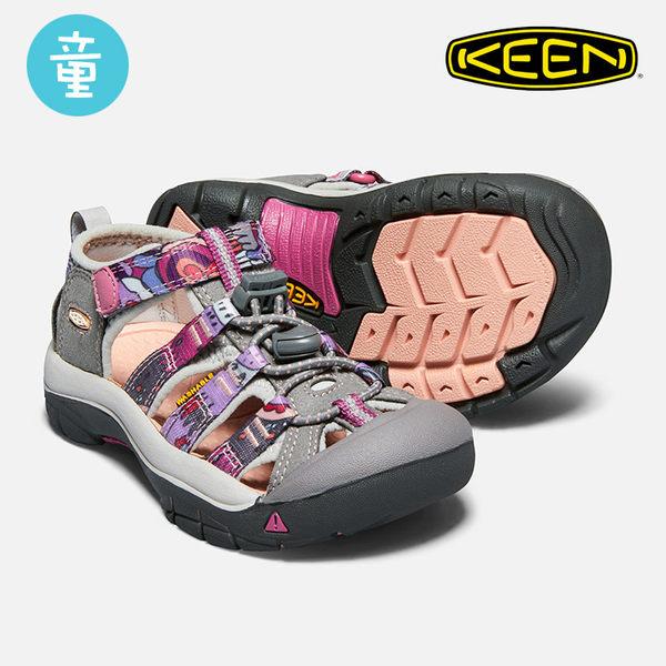 KEEN 小童款 織帶涼鞋Newport H2 1018263 / 城市綠洲 (KIDS、水陸兩用、織帶鞋面、戶外休閒、運動涼鞋)