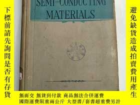 二手書博民逛書店semi-conducting罕見materials(H4522