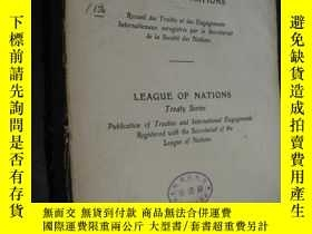 二手書博民逛書店société罕見des nations league of n