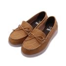 TANGO 皮革莫卡辛帆船鞋 棕 F5 女鞋