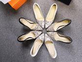 【Sp house】歐美時尚都會個性蛇紋尖頭8cm細跟鞋(黑色白色2色全尺碼)