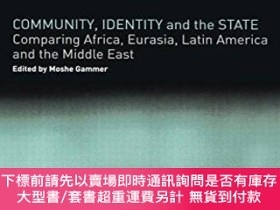 二手書博民逛書店Community,罕見Identity And The StateY255174 Gammer, Moshe