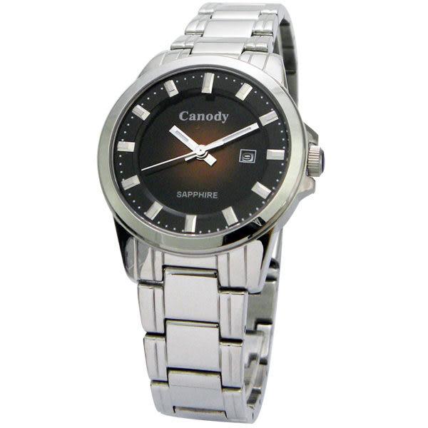 【僾瑪精品】Canody 都會大方時尚腕錶(咖啡/31mm) CL5641-H