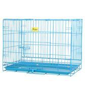 寵物籠子 室內折疊狗狗泰迪小型中型大型犬家用貓籠小狗帶廁所圍欄 - 歐美韓