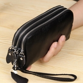 手抓包 手拿包女式大容量零錢手機包新款歐美簡約小手包 小天後