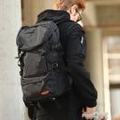 大容量雙肩包男行李旅游背包簡約休閒書包潮戶外輕便登山女旅行包 (pinkq 時尚女裝)