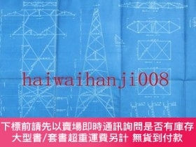 二手書博民逛書店ANCHOR罕見TOWER SPAN 366M.(1200ft.) HORIZINTAL ANGLE 25°Y