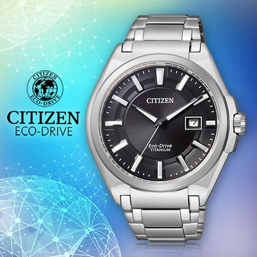 CITIZEN 星辰手錶專賣店 BM6930-57E 男錶 Eco-Drive光動能 鈦合金錶殼錶帶 藍寶石水晶玻璃鏡面 防水100米