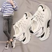 運動鞋 老爹鞋女潮春季網紅韓版ulzzang學生超火春款運動鞋子