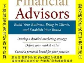 二手書博民逛書店Marketing罕見For Financial Advisor