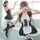 女僕裝 角色扮演萌系制服XXL 中大尺碼洋裝 甜美蕾絲連身裙-愛衣朵拉