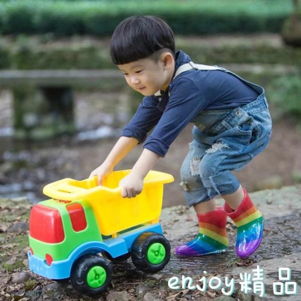 新年鉅惠 兒童雨鞋寶寶雨靴水晶卡通雨靴3D彩虹雨鞋水鞋雨鞋