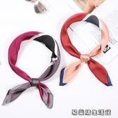絲巾女裝飾空姐領巾小方巾