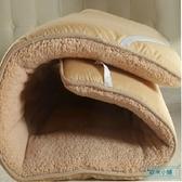 床墊 冬天毛絨加厚保暖床墊軟墊學生宿舍單人墊背褥子墊被床褥雙人1.5m