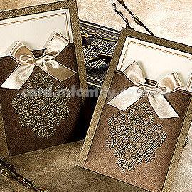 進口設計婚卡-維特妮卡-創意中式喜帖韓式西式請帖 幸福朵朵(請先留言數量,勿直接購買)