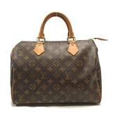 LOUIS VUITTON LV 路易威登 原花手提波土頓包 Speedy 30 M41526 【BRAND OFF】