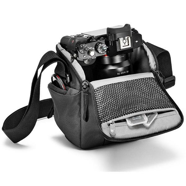 ◎相機專家◎ Manfrotto Holster CSC 開拓者微單眼槍套包 酒紅色 MB NX-H-IBX 相機包 正成公司貨