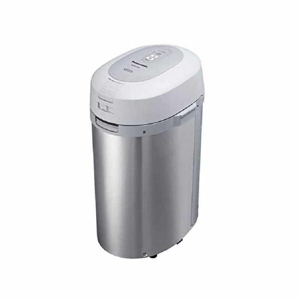 Panasonic 松下電器 廚餘機 家用生垃圾處理器 溫風乾燥式 6L 銀色 MS-N53XD-S [2東京直購]