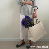 新品韓版東大門同款簡約大容量帆布包ins爆款購物包手提包女大包