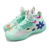 adidas 籃球鞋 Harden Vol 5 水藍 湖水綠 花 蝴蝶 鳥 哈登 男鞋 愛迪達 大鬍子【ACS】 H68685