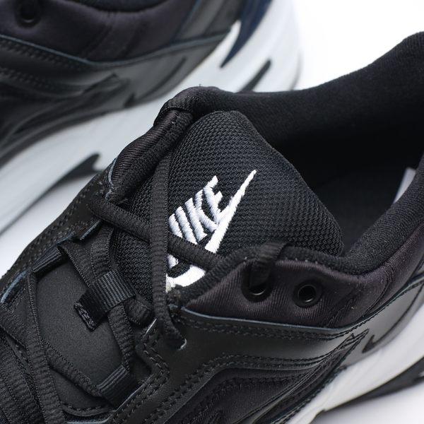 Nike M2K Tekno  白底 黑皮革 老爹鞋 男 (布魯克林) AV4789-002