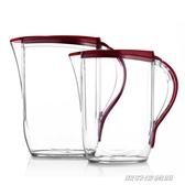 冷水壺大容量耐高溫涼水壺食品級塑膠涼水杯加厚裝水壺家用耐熱YYJ 【雙11特惠】