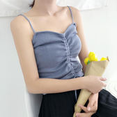冰絲吊帶揹心女夏外穿短款溫柔風內搭性感小心機無袖針織打底上衣   9號潮人館