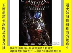 二手書博民逛書店Batman罕見Arkham Knight GenesisY26