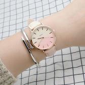 手錶 手錶女學生簡約潮流漸變色女錶 莎拉嘿幼