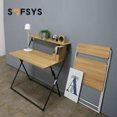 折疊桌 書桌 便攜簡易辦公桌家用學習寫字臺小桌子 折疊電腦桌 YYJ深藏blue