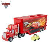 CARS 汽車總動員3.麥大叔收納遊戲車.2合1變形卡車