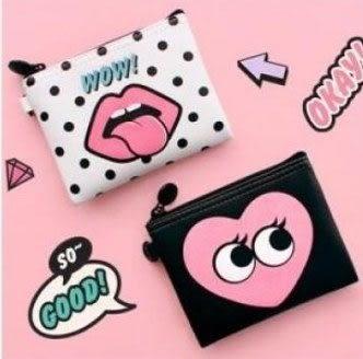 預購-創意可愛零錢包化妝包口紅包小整理收納包卡包