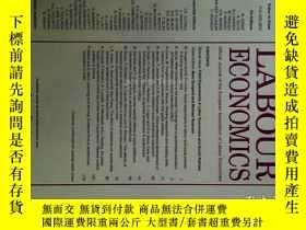 二手書博民逛書店Labour罕見Economics (Journal) 04 2017 勞動經濟學學術期刊Y14610