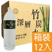 南投埔里 深層竹炭水 1500ML (12入/箱) 礦泉水 免運費