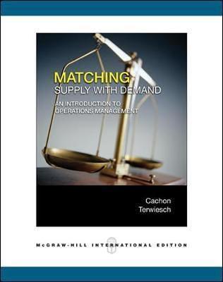 (二手原文書)Matching Supply with Demand: An Introduction to Operations Management