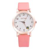 兒童手錶 女孩手錶中小學生電子表石英表韓版兒童手錶男孩卡通可愛腕表